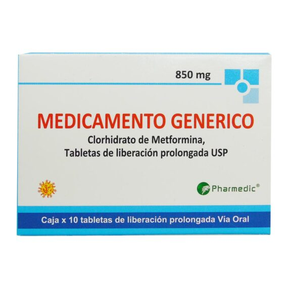 2-Clorhidrato-de-Metformina-850-mg